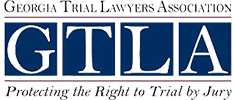 Logo Recognizing Law Offices of Sheryl L. Burke's affiliation with Georgia Trial Lawyers Association